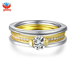 discount galaxy wedding ring galaxy 2016 new fashion 18k gold plated exquisite jewelry ring top aaa - Wedding Rings For Sale