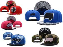 Wholesale Collection Trukfit Snapback Hats Caps Hats Adjustable New Color Brown Snapbacks Cheap Hat Cap Trukfit Snapbacks Mix Order Free Ship