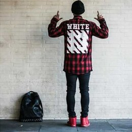 Off White Plaid Shirt Online | Off White Plaid Shirt for Sale
