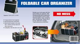 Новый Автомобильные аксессуары Магистральные Организатор автомобилей хранения сумка Получите Портативный складной Car Boot Tidy сумка бесплатную доставку DHL 60102
