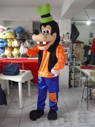 Wholesale 2015 Deluxe Goofy Dog Mascot Costume Fancy Party Dress Suit ghng87