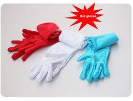 Wholesale 2015 frozen elsa gloves student long glove pink white blue red purple unisex boy glove