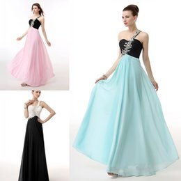 Wholesale 2015 Pink Chiffon Cheap Crystal Bridesmaid Dress Floor Length Vestidos De Feista party Dress In Stock Size to Maid Of honor Prom WXC