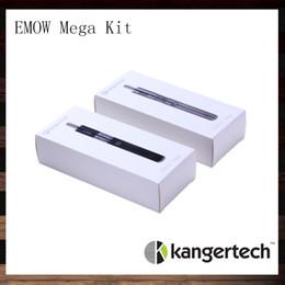 online shopping Kanger EMOW Mega Starter Kit Original Kangertech mah VV EMOW Mega Kit With ariflow control ml EMOW Mega Atomzier