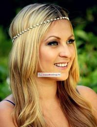 2015 nova cadeia de cabelo projeto do ouro acessórios de cabelo da noiva do vintage do casamento Acessórios CPA198