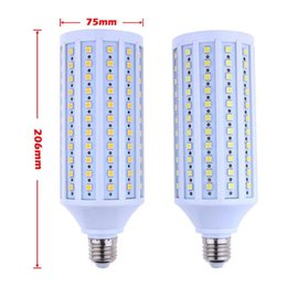 2017 free energy efficient light bulbs 30W E27 5050 SMD 165LEDs Corn Bulb  Lamp 220V Warm