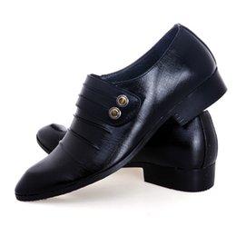 Negro El nuevo diseño de la venta caliente de los hombres clásicos de negocios hombres zapatos casuales zapatos de boda del novio de baile zapatos de la tarde 11