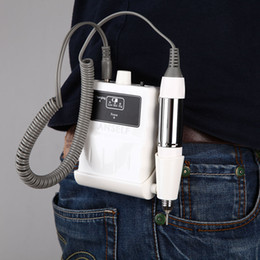 Wholesale Rechargeable Mini Pedicure Nail tools Kit Set Portable Acrylic V RPM Nail File Drill Manicure Machine Equipment W980