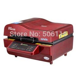 Discount heat sublimation paper Free ship new 3D Sublimation Vacuum Heat Transfer Press Printer Machine ST3042