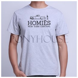 Wholesale CUN HOMIES PARIS FUNNY T OTTER Top cotton short sleeve T shirt Fashion Brand men t shirt new high quality