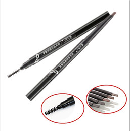 Wholesale 2015 Brand New High quality Automatic eyebrow pencil waterproof eye brow pencil With brush Eye brow makeup