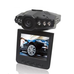 Vendedor superior de 2.5 '' levas tablero de coches coche DVR sistema de cámara grabadora de recuadro negro H198 versión de la noche del video de la cámara tablero 6 IR LED