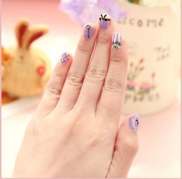 Wholesale 00644 factory green nail polish stickers Full cover pregnant women children nail stickers nail decals