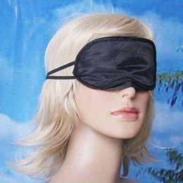 Wholesale Hot Eye Mask Shade Nap Cover Blindfold Travel Rest Enjoy Leisure Skin Health Care Treatment Black Sleep Vision Care High Quality Sleep Masks