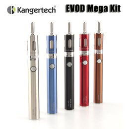 online shopping Original Kanger EVOD Mega starter kit kangertech evod mega e cigarette mAh battery ml atomizer vaporizers kit VS Emow mega kit