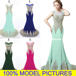 Wholesale 2015 Designer Long Skirt Prom Dresses For Juniors Cheap Real Photo Plus Size Arabic Dubai Celebrity Wedding Evening Formal Wear Gowns