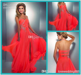 Cheap Neon One Shoulder Prom Dress | Free Shipping Neon One ...