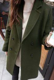 Ladies Long Black Wool Coats Online | Long Black Wool Coats For