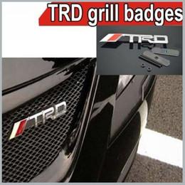 1 х металла TRD автомобилей Эмблемы значок автомобиля эмблем для автомобиля свободной перевозкой груза столбом Кита заказ $ 18no трек