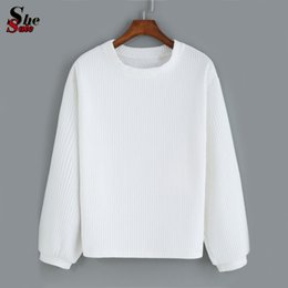 Plain White Hoodie Womens - Hardon Clothes