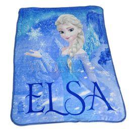 Wholesale Frozen Blanket bedding Printed Soft Blanket Cool Refreshing Comfortable Blanket