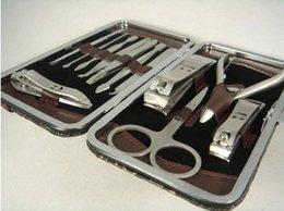 Wholesale Venta caliente libre de DHL en herramientas determinadas del clavo Mini kit de la manicura Puntera del acero inoxidable del dedo del pie CutterProfessional Cortador de la pinza de la cutícula