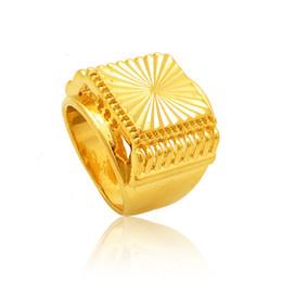 discount men 24k wedding ring engagement rings gold new 2015 hot sale gold men 24k gold - Wedding Rings For Sale