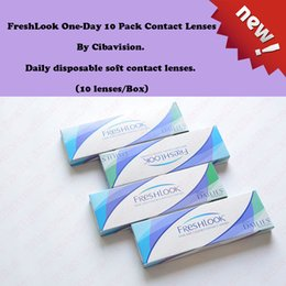 Wholesale FreshLook One Day Pack Contact Lenses Gray Lenss Box Can Mix Colors Tone Lenses Hours Fast Deliver