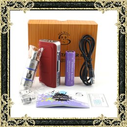 Wholesale Kit Vaporisateur Kangside TC500 II Luxery cigarette électronique Starter Kit TC W avec écran OLED Fasion CIGS E