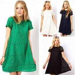 Wholesale 2014 New Ladies fashion pregnant clothes cutout lace women Kaleidoscope casual maternity dress clothing hollow out colors