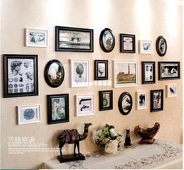 art home decor set creative combination frame photo wall setcheap price black photo collage framesweightabout35kg