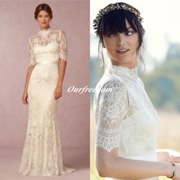 Vintage Lace Wedding Dresses With Sleeves Uk