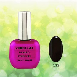 Wholesale 258 colors phototherapy glue shinegel nails ml Natural color Shinegel bottle sock off uv gel nail polish uv led factory sale top quality