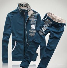 HOT VENTE Vêtements pour hommes Mode Casual Mens Impression Track Suit Sports Athletic Apparel 3 Couleurs M-XXL Tracksuits