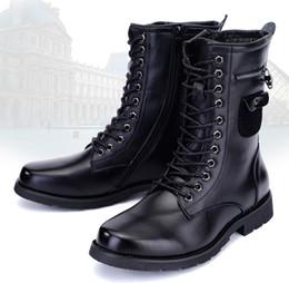Zip Up High Boots Men Online | Zip Up High Boots Men for Sale