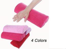 Wholesale New Detachable Washable Soft Hand Cushion Pillow Nail Arm Towel Rest Nail Art Manicure Tools DHL