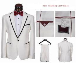 Discount White Dress Coat For Men | 2017 White Dress Coat For Men