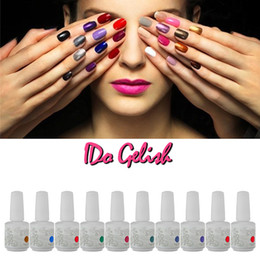 Wholesale Nail Polish Soak Off Gel Polish Gelish Nail Art UV Gel Long Lasting Colors Any Colors Gel Tips