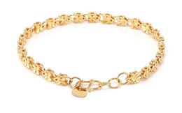 Bijoux en or 18 carats rempli Bracelets de mariage Bracelet engagement KS136