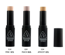 Wholesale New Korea concept eyes CE Stylenanda colors APNCOT PEACH PINK Shimmer Stick Fashion Concealer Stick