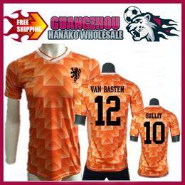 2017 classic football jerseys 1988 Retro Version Orange Classic Vintage  Netherlands home Soccer jersey best quality 19b839cd6