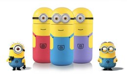 Wholesale 2015 Creative cartoon ML Minions cups Stainless Steel Vacuum Travel thermos cup Thermos Mug