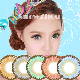 Wholesale 1pair new Elves tone colors color contact lenses DHL shipping years experience Recognized comsmetic contact lenses