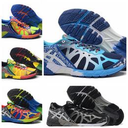 Верхнее качество New Asics Gel-Noosa Tri 9 кроссовки для мужчин, Мода Прохладный легкие кроссовки дышащий Sport Кроссовки Eur Размер 40-45
