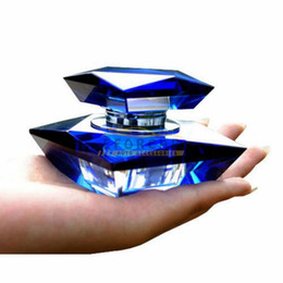 Wholesale Car Perfume Bottles Elegant K9 Crystal Car Perfume Seat Auto Perfume Bottle Base Set Without Perfume Brand New