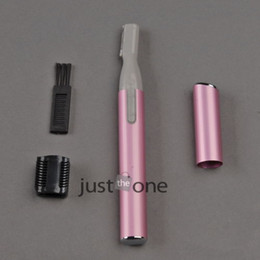 Wholesale Practical Eyebrow Face Arms Legs Body Hair Trimmer Shaver Remover Razor W Brush