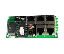 OEM de haute qualité mini prix bon marché 5 ports commutateur module manufaturer entreprise carte PCB 5 ports ethernet commutateurs réseau module