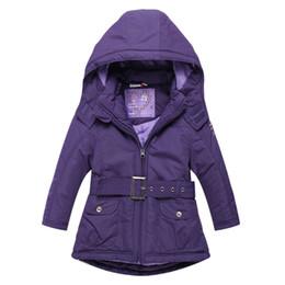 Girls Purple Coats