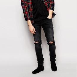 Mens Torn Skinny Jeans Online   Mens Torn Skinny Jeans for Sale