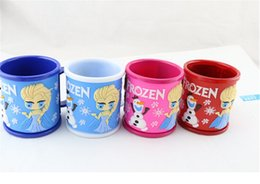 Wholesale Hot Sales Frozen Cup Peppa Pig George Pig Cup Plastic ml tooth brushing cup also can be drink cup